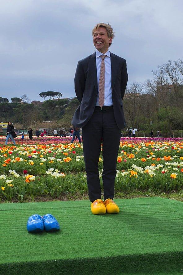 Ambasciatore olandese a tulipark roma